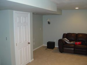This is a basement finish doorway.