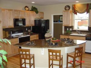 This is a complete kitchen remodel.