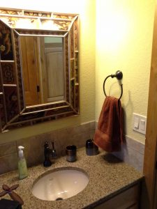 Passive home bathroom